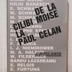 DE LA CILIBI MOISE LA PAUL CELAN - Carti Iudaism