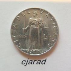 Moneda 5 Lire Vatican - 1952 (allu) *cod 204, Europa