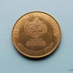 JETON GERMANIA - FIFA FUSSBALL - CUPA MONDIALA FRANKFURT 2006 - Jetoane numismatica