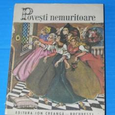 POVESTI NEMURITOARE VOL 12 - 1975 - ED A 2-A LETONE, ROMANESTI, SPANIOLE - Carte de povesti