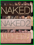 Set 3 truse make-up Profesionale NAKED Urban Decay nr 2/3/5 12 culori, Urban Decay