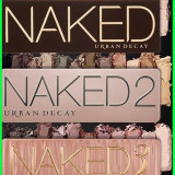 Set 3 truse make-up Profesionale NAKED Urban Decay nr 2/3/5 12 culori