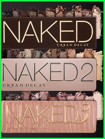 Set 3 truse make-up Profesionale NAKED Urban Decay nr 2/3/5 12 culori