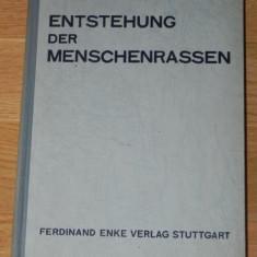 HANS WEINERT - ENSTEHUNG DER MENSCHENRASSEN / FORMAREA RASELOR UMANE 1941
