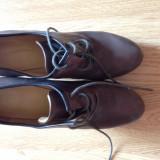 Pantofi Nine West - Pantof dama, Piele naturala, Cu talpa joasa