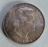 Moneda argint Franta - 100 franci / francs 1984 - aniversara Marie Curie, Europa