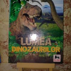 Lumea Dinozaurilor Mega Image Album incomplet
