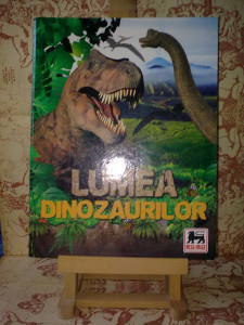 Lumea Dinozaurilor Mega Image Album incomplet A2168