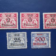 TIMBRE GERMANIA DANZIG MNH, An: 1921, Nestampilat
