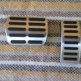 Set pedale Inox transmisie AUTOMATA pentru VW/Audi/Skoda/Seat