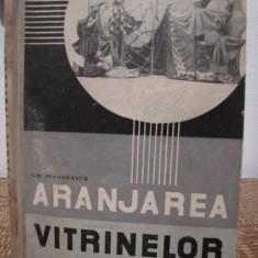 ARANJAREA VITRINELOR-GH.TEODORASCU - Carte amenajari interioare