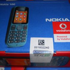 NOKIA 100, NOU, ORIGINAL, codat vodaf sau orange, trimit si prin posta cu verificar - Telefon Nokia, Gri, Nu se aplica, Vodafone, Single SIM, Single core