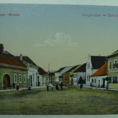 ORASTIE - SZASZVAROS - BROOS - STRADA CISMARILOR - VARGA UTCA - INCEPUT DE 1900 - Carte Postala Transilvania 1904-1918, Necirculata, Fotografie