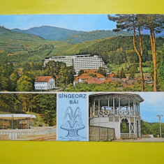 HOPCT 15236 SINGEORZ BAI- -JUD BISTRITA NASAUD[CIRCULATA] - Carte Postala Transilvania dupa 1918, Printata