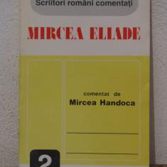 MIRCEA ELIADE comentat de MIRCEA HANDOCA - Filosofie