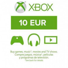 XBOX Live EU 10 EUR (COD ACTIVARE Official Website)