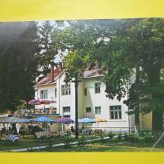 HOPCT 15241 BISTRITA-TERASA MOTELULUI CODRISOR -JUD BISTRITA NASAUD[CIRCULATA] - Carte Postala Transilvania dupa 1918, Printata