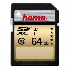 Card memorie Hama 104379 SDXC 64GB, class 10 - Multimedia card