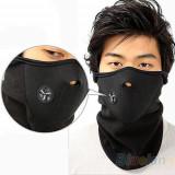 Masca cagula ciclism moto ski softball  NOI din NEOPREN cu protectie (polar)