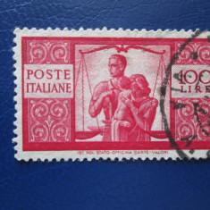 TIMBRE ITALIA 1946, Stampilat
