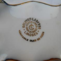 Veche Cutie Limoges portelan Bijuterii Vintage marcata de colectie Splendida - Cutie Bijuterii