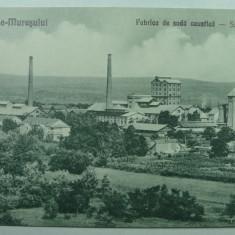 OCNA - MURES - FABRICA DE SODA CAUSTICA ( SOLVAY ) - INCEPUT DE 1900 - Carte Postala Transilvania 1904-1918, Necirculata, Fotografie