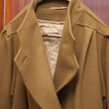 Vand palton dama - impecabil-maro inchis, Negru, 46