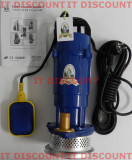 Pompa de apa submersibila Micul fermier QDX 370W 16m 1.5mc cu plutitor GARANTIE, Pompe submersibile, de drenaj