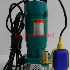 Pompa submersibila fonta QDX 370 16m 1.5mc cu flotor APA CURATA - GARANTIE - Pompa gradina, Pompe submersibile, de drenaj
