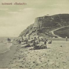 MOLDOVA ,  STATIUNEA BALNEARA  BUDACHI , PLAJA, Necirculata, Printata
