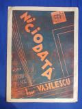 PARTITURA ROMANEASCA INTERBELICA * NICIODATA (VALS-BOSTON) ,MUZICA ION VASILESCU
