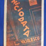 PARTITURA INTERBELICA * NICIODATA ( VALS-BOSTON ) - MUZICA : ION VASILESCU