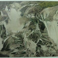 OCNA MURES - DEALURI DE SARE - INCEPUT DE 1900 - RARA - Carte Postala Transilvania 1904-1918, Necirculata, Fotografie