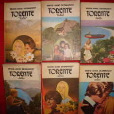 Torente (6 volume)-Marie Anne Desmarest - Roman