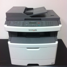 Imprimanta laser multifunctionala Lexmark x264dn, Retea