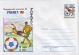 Sport, Campionatul Mondial de Fotbal Franta 1998, intreg postal necirculat