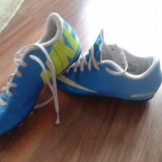 ADIDASI FOTBAL NIKE - Ghete fotbal Nike, Marime: 33, Culoare: Bleu, Copii, Iarba: 1