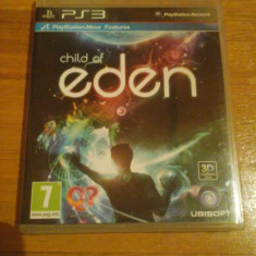 JOC PS3 CHILD OF EDEN ORIGINAL / 3D compatible / STOC REAL in BUC / by WADDER - Jocuri PS3 Ubisoft, Arcade, 12+, Single player