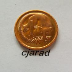 Moneda 1 Cent - Australia 1971 (stare: a.UNC) *cod 268, Australia si Oceania