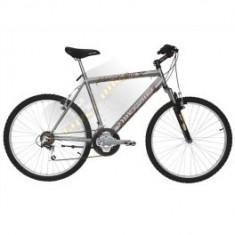 Bicicleta first bike - Mountain Bike First Bike, 15 inch, 16 inch, Numar viteze: 21, Gri metalizat, V-brake