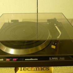Pick-up Technics SL-1410 MKII (negru) stare foarte buna, poze reale - Pickup audio