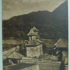 MANASTIREA CORNET - VALCEA - SEPIA - INCEPUT DE 1900, Necirculata, Fotografie