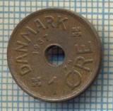 6299 MONEDA - DANEMARCA (DANMARK) - 1 ORE - ANUL 1937 -starea care se vede, Europa