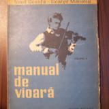 Manual de vioara, vol IV (4) + Anexa - I. Geanta, G. Manoliu (1965)