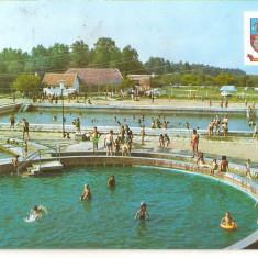 CPI (B5318) CARTE POSTALA - OCNA SUGATAG, BAILE, CIRCULATA 1977, STAMPILE, TIMBR - Carte Postala Maramures dupa 1918, Fotografie