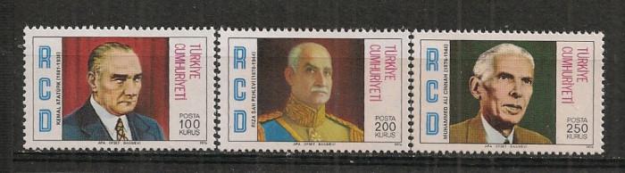 Turcia.1976 Cooperarea regionala-reformatori  ST.308