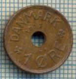 6298 MONEDA - DANEMARCA (DANMARK) - 1 ORE - ANUL 1937 -starea care se vede, Europa