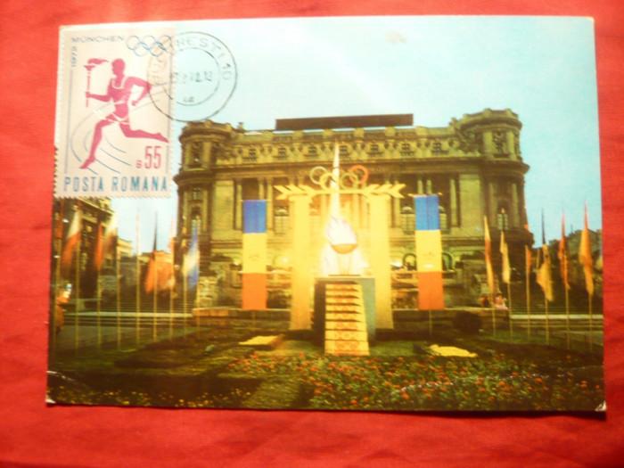 Maxima - Flacara Olimpica la Bucuresti