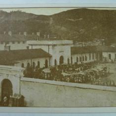 PENITENCIARUL OCNELE MARI ( VALCEA ) -SEPIA - RARITATE - INCEPUT DE 1900