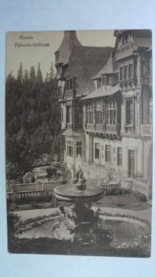 SINAIA - CASTELUL PELES - SEPIA - EDITURA GERMANA - INCEPUT DE 1900 foto